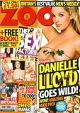 Danielle Lloyd - Zoo - September 2008 (9-2008d) United Kingdom  - 11xHQ (Almost Nude)