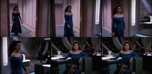 Marina Sirtis-Star Trek the Next Generation S3:Hollow Pursuits Collage