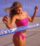 "Athletically alluring Gabrielle Reece is one pretty piece of muscle and mass. An intriguing international model, pro bubbly beach-volleyball vixen, and statuesque spokesperson for Nike, Gabby has the whole world wishing they could ""Just do it!"" With over six feet of solid sex appeal, Gabrielle Reece brought national attention to her sport, one jiggle and jump at a time. Although she volleyed her bouncing balls in a short-lived stint on the series The Extremists and the forgetful film Gattaca (1997), Gabrielle Reece is at her breast undressed between the pages of Playboy. Gab's rare form is guaranteed to warm the most spiritless of spikes in all her skindeavors. Foto 62 (Атлетического заманчиво Гэбриэлль Рис является одним довольно кусок мышц и мышечной массы.  Фото 62)"