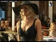 Romina Burne cleavage