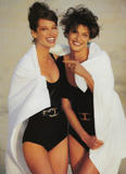 Christy Turlington with Linda Evangelista: Vogue (UK) 05/1990, ph. Patrick Demarchelier Foto 99 (Кристи Тарлингтон с Линда Евангелиста: Vogue (Великобритания) 05/1990, тел.  Фото 99)