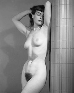 Betty Bettie Page Color Nude