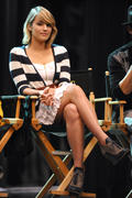 Dianna Agron - 300th Musical Performance of &amp;quot;Glee&amp;quot; in Hollywood 10/26/11