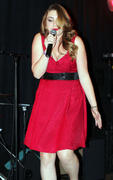 Sophie Simmons performing at the River Rock Casino in Vancouver, November 26, 2011