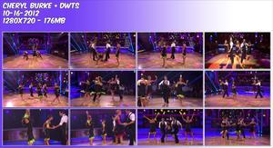 Cheryl Burke ~ Misc dance 10-16-2012