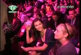Bridget Moynahan at fashion show video