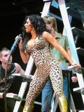 Melanie Brown - Performs in Animal Print Catsuit